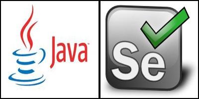 Java y selenium